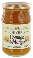 Chivers Smooth Orange Mango Brotaufstrich 340 g