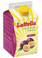 Lattella Molkedrink Maracuja 500 ml