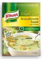 Knorr Schnelle Feine Broccolicreme Suppe m. Croutons 55g