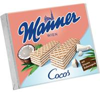 Manner Cocos Schnitten 12 x 75 g