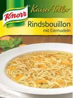 Knorr Kaiser Teller Rindsbouillon mit Eiernudeln 82g