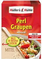 Müller´s Mühle Perl Graupen mittelgroß 250g