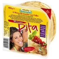 Mestemacher Pita Brottaschen Weizen 400g