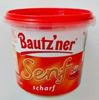 Bautzner Senf scharf 200 ml