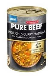 Inzersdorfer Pure Beef Indisches Curry Madras 400g