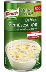Knorr Meisterkessel Deftige Gemüsesuppe 500g