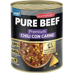 Inzersdorfer Pure Beef Chili con Carne 2,9 kg