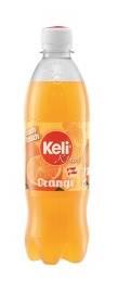 KELI Orange Limonade 12 x 0,5 ltr. (6 ltr.)