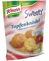 Knorr Sweety Topfenknödel -  österreichische Spezialität 150g